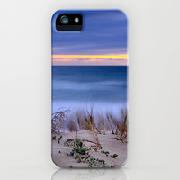 Wind sunset iPhone & iPod Case by Guido Montañés