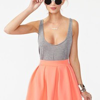 Scuba Skater Skirt in  What's New at Nasty Gal