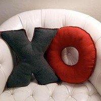 Camp craft No. 3: Fleece alphabet pillows - Crafty Nest