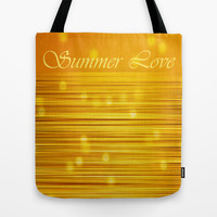 SUMMER LOVE Tote Bag by catspaws
