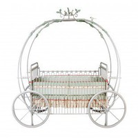 Corsican Kids Pumpkin Crib - 43006 - Cribs - Nursery Furniture - Baby & Kids' Furniture - Furniture
