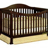 AFG International Furniture Athena Allie 3-in-1 Crib in Espresso - 4588M - Cribs - Nursery Furniture - Baby &amp; Kids&#x27; Furniture - Furniture
