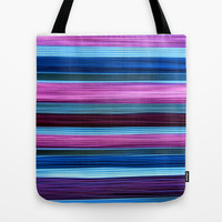 SIMPLY STRIPES 2 Tote Bag by catspaws