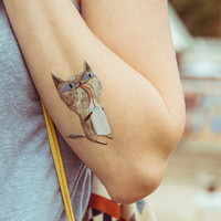 TEMPORARY TATTOO - kitty