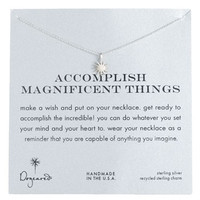 Dogeared 'Accomplish Magnificent Things' Boxed Pendant Necklace | Nordstrom