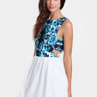 I'm His Girl Cutout Dress By Keepsake