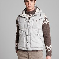 Moncler Quilted Hooded Vest | Bloomingdale's