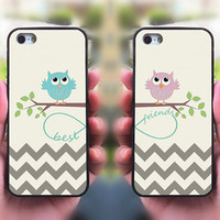 Best Friends,owl,iphone 5S case,iphone 5C case,iphone 5 case,iphone 4 case,ipod 4 case,ipod 5 case,ipod case,matching phone case