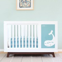 Muu Sam Blue Whale Crib - MUU-101B/MUUP-902-14-A - Cribs - Nursery Furniture - Baby & Kids' Furniture - Furniture