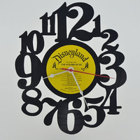 Vinyl Record Clock (artist is Disneyland Wizard of Oz)