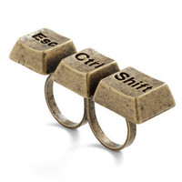 Style is Keyboard Ring | Mod Retro Vintage Rings | ModCloth.com