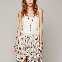 Free People  Garden Party Printed Slip at Free People Clothing Boutique