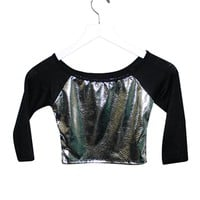 California Kisses SNAKE CROP TOP - Whats New