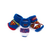 Crib Superman Socks 3 Pack, Multi, at Journeys Shoes