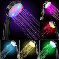 Amazon.com: 7 COLOR LED SHOWER HEAD ROMANTIC LIGHTS WATER HOME BATH: Home &amp; Kitchen