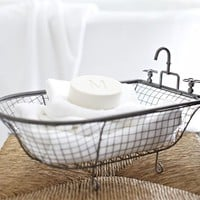 Bathtub Mesh Catchall
