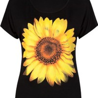 Amazon.com: FULL TILT Daisy Womens Tee: Clothing
