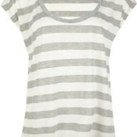 Amazon.com: FULL TILT Stripe Womens Top: Clothing