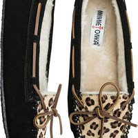 MINNETONKA LEOPARD CALLY SLIPPER | Swell.com