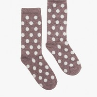 Need Supply Co. Bea Polka Dot Crew Socks