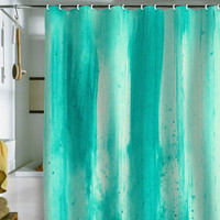 DENY Designs Home Accessories | Madart Inc. Modern Dance Aqua Passion Shower Curtain
