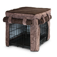 Snoozer Cabana Style Pet Crate Cover at Brookstone—Buy Now!