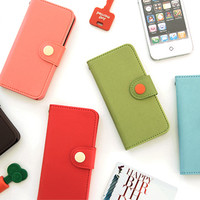 Button iPhone 5 Case