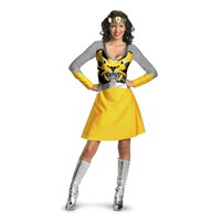 Transformers 3 Dark Of The Moon Movie - Bumblebee Female Classic Adult Costume