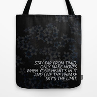 SKY'S THE LIMIT Tote Bag by Good Sense