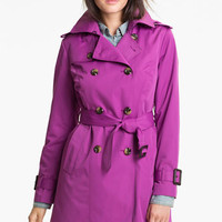 London Fog Heritage Trench Coat with Detachable Liner (Regular
