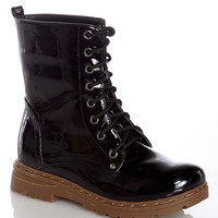 Immortal Combat Black Combat Boot