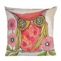 Cori Dantini Miss Goldie Throw Pillow