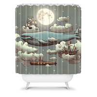 DENY Designs Home Accessories | Terry Fan Ocean Meets Sky Shower Curtain