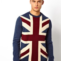 ASOS | ASOS Flag Sweater at ASOS