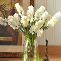 Artificial Silk Hyacinth Wedding Bouquet Home Decor