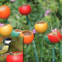 Flower Bed Wild Bird Feeder (Pack of 3) - Earth Huggers: Serious About Sustainability