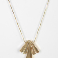 Urban Outfitters - Gliding Triangles Necklace