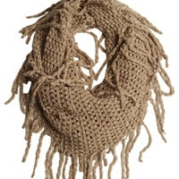 Fringe Eternity Scarf | Shop Just Arrived at Wet Seal