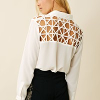 MinkPink Web Of Lies Shirt