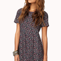 Dainty Floral Babydoll Dress