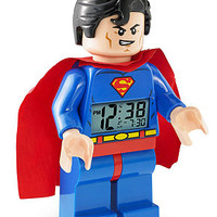 Lego Alarm Clock, Superman Alarm Clock 9005701 - Watches - Jewelry & Watches - Macy's