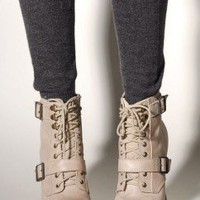 Romance Buckled Embellished Bootie by Seychelles at AKIRA | Utilitarian Stiletto Boot | shopAKIRA.com