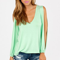 Vanna V-Neck Top $38