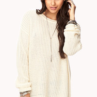 Everyday Open-Knit Sweater | FOREVER 21 - 2000112031