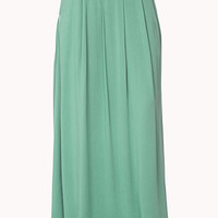 Pleated Maxi Skirt | FOREVER 21 - 2038175608