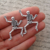 dancing skeleton studs
