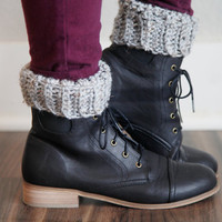 Crochet Boot Cuff Leg Warmers Bohemian Trendy Boot Accessories