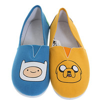 Adventure Time Finn & Jake Slip-On Shoes | Hot Topic