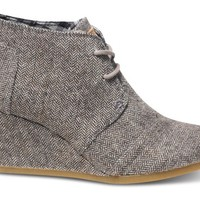 Herringbone Women's Desert Wedges