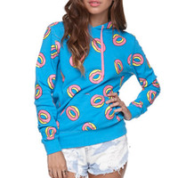 ODD FUTURE All Over Donut Hoodie at PacSun.com